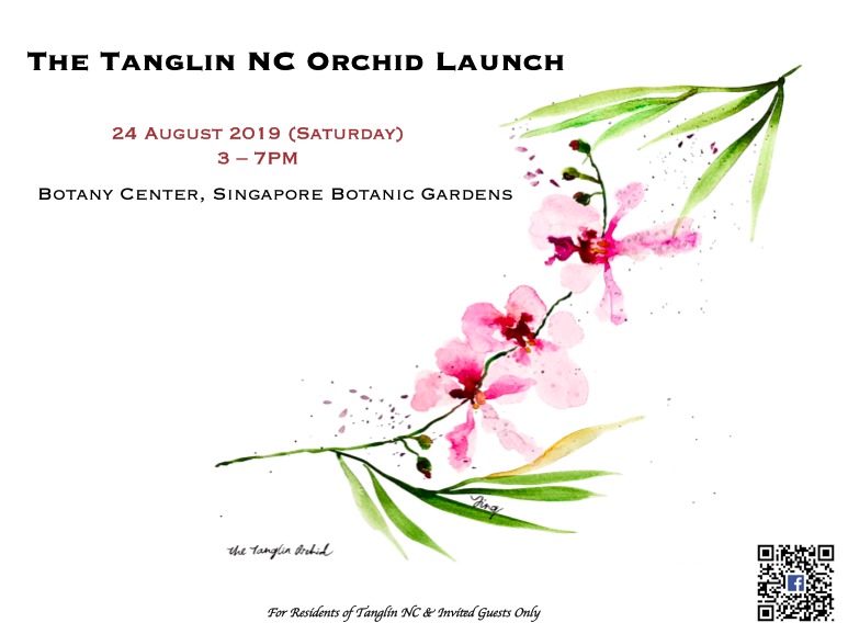 Celebrating LOCAL: The Tanglin Orchid Launch