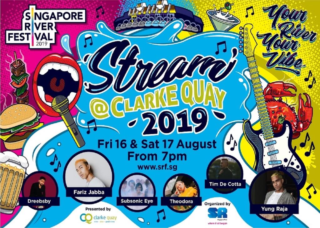 Stream @ Clarke Quay 2019
