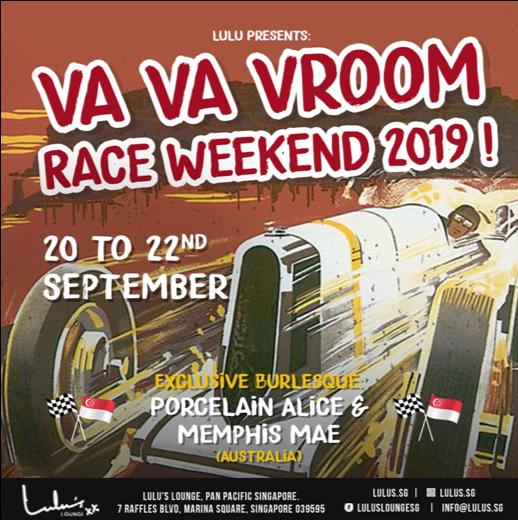 Va Va Vroom Race Weekend 2019
