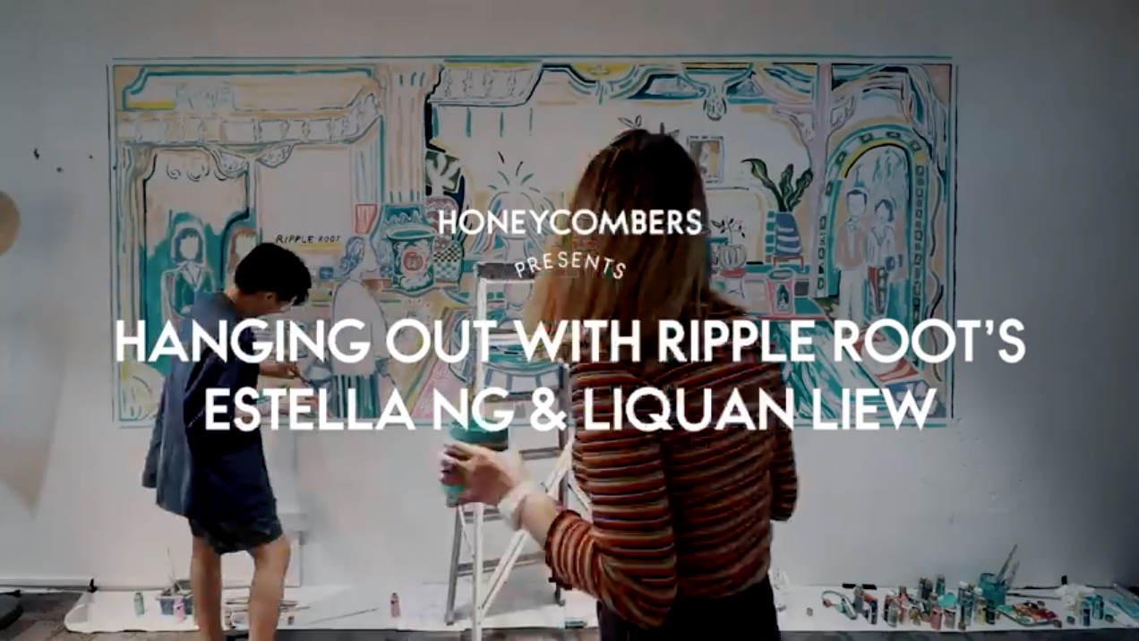 Hanging out with Ripple Root's Estella Ng and Li …