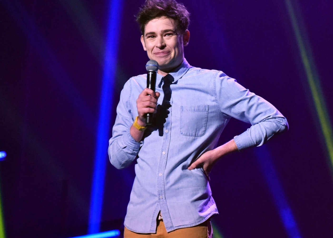 Brennan Reece will be dishing out the laughs live. Photography: Melbourne International Comedy Festival