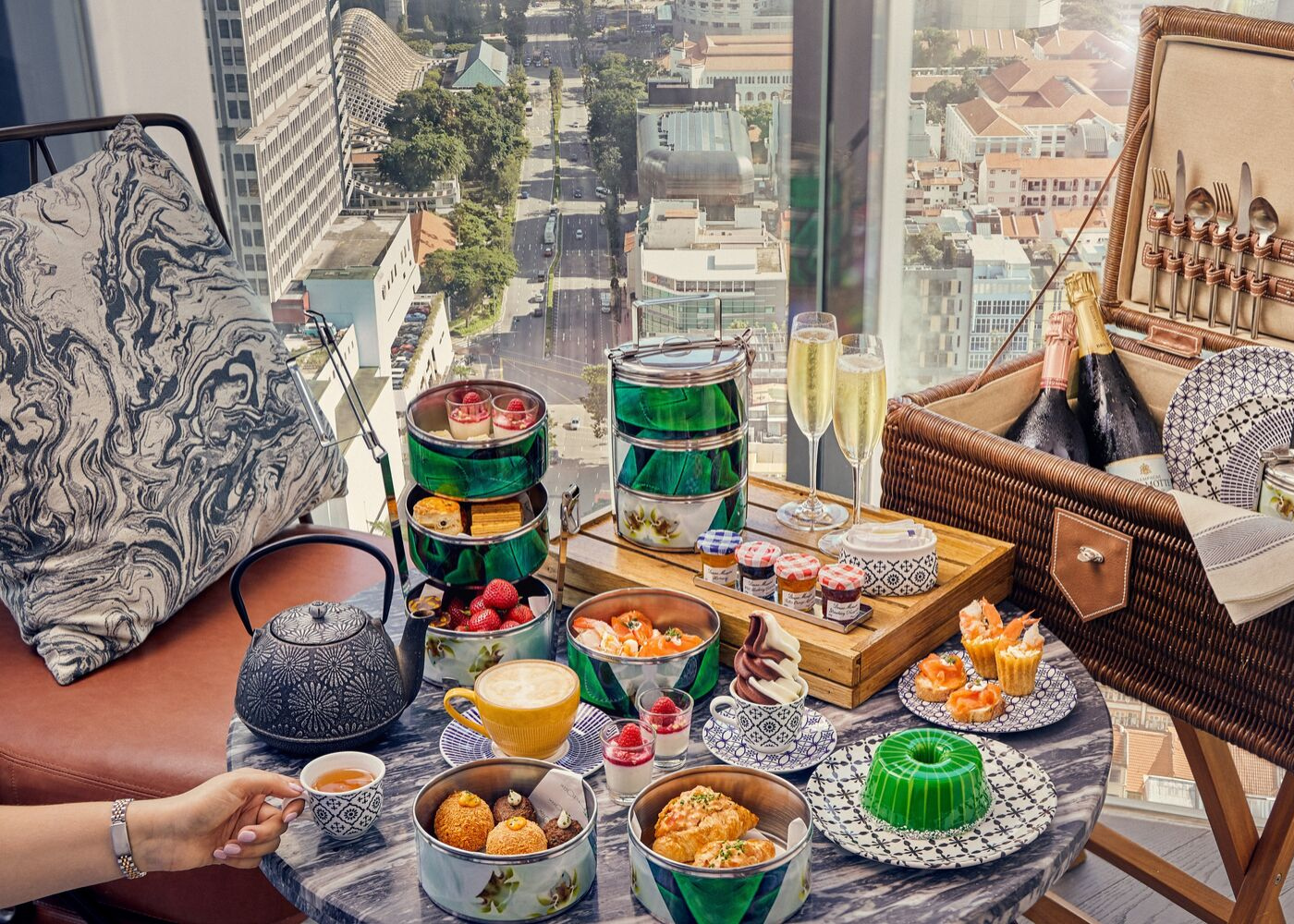 Andaz Singapore-inspired high tea