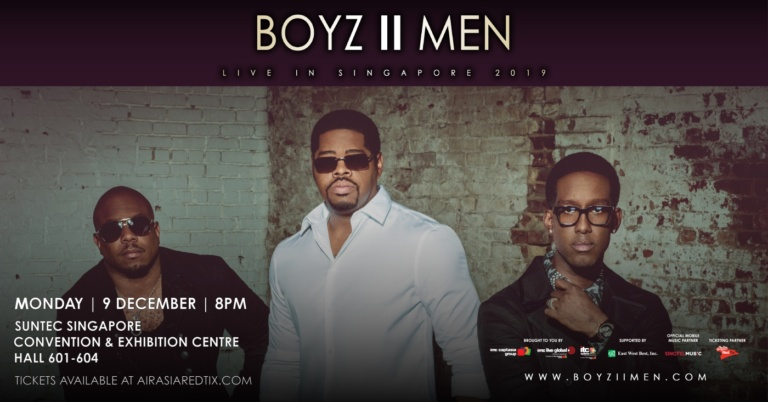 Boyz II Men Live in Singapore 2019