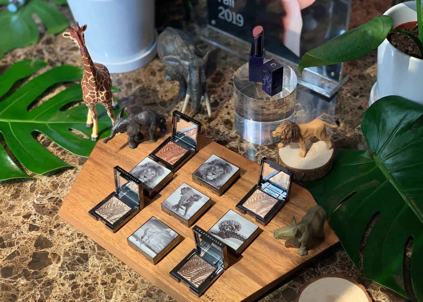 Chantecaille's Fall 2019 collection is giving us major Safari goals