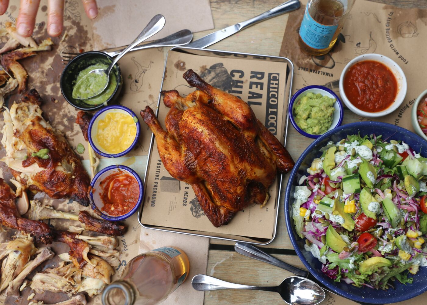 Chico Loco has Mexican spit-roasted chicken