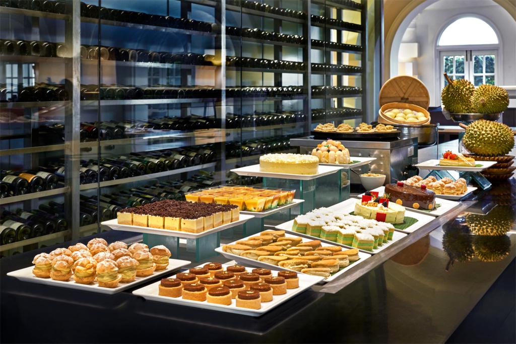 Goodwood Park Hotel's Durian Dessert Buffet