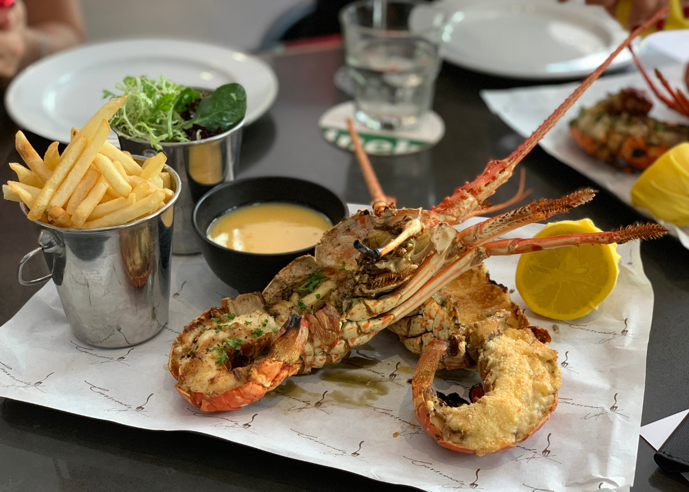 Try the lobster at Crossroads, Singapore Marriott Tang Plaza