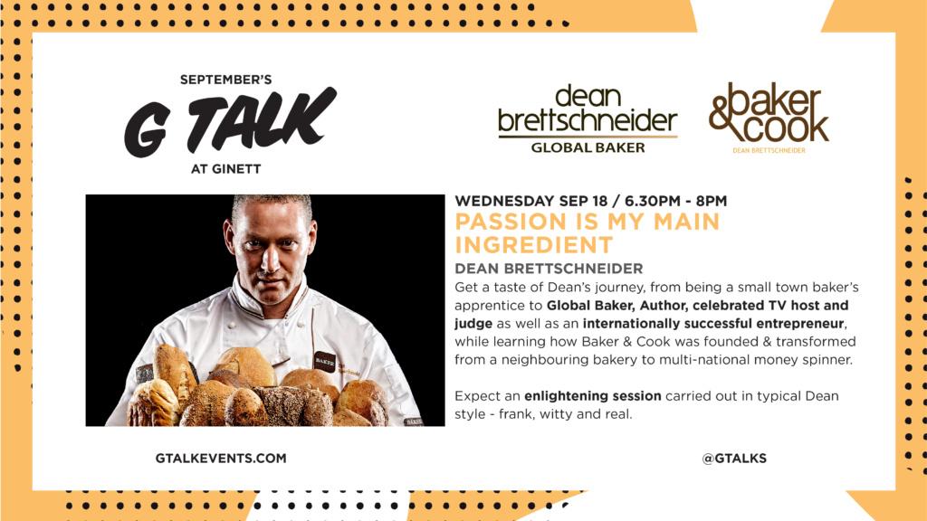 G Talk Singapore: Dean Brettschneider
