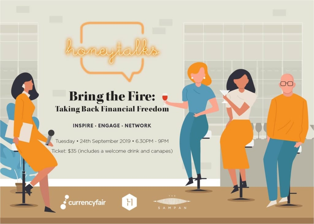 HoneyTalks: Bring the FIRE, Taking Back Financial Freedom (Sold Out)