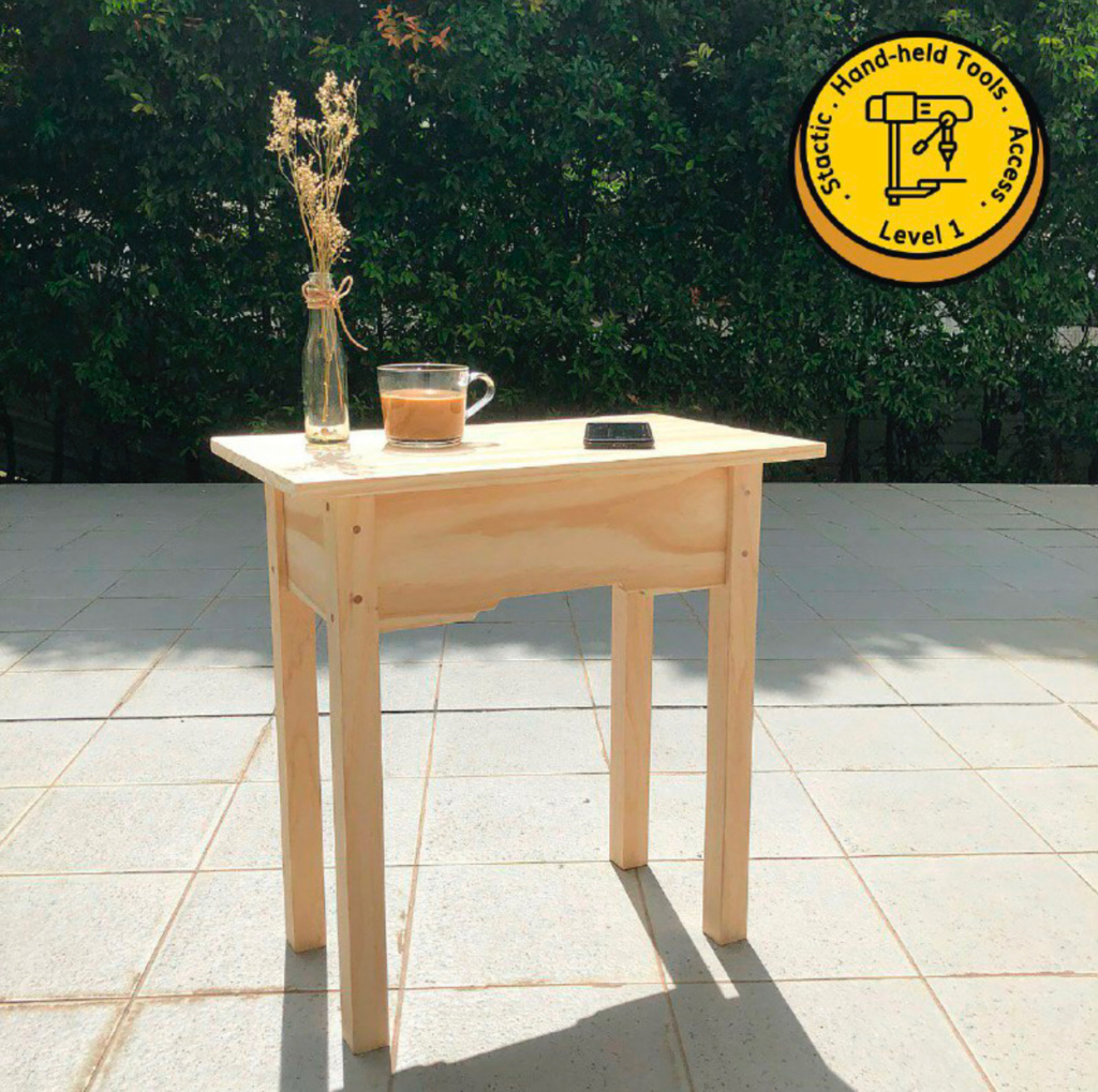 Build-Your-Own End Table Workshop by Clamps & Braces | Honeycombers  Singapore