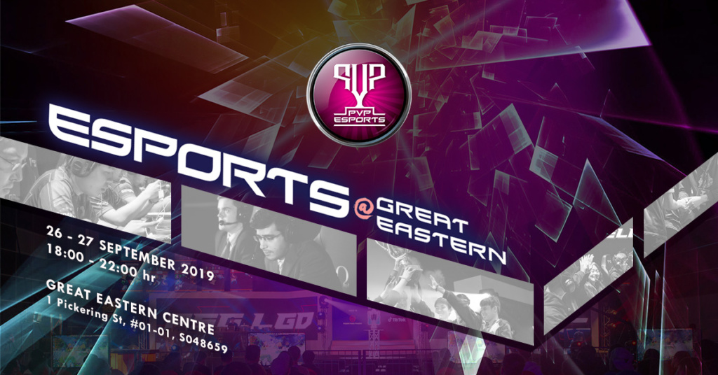 PVP Esports @ Great Eastern