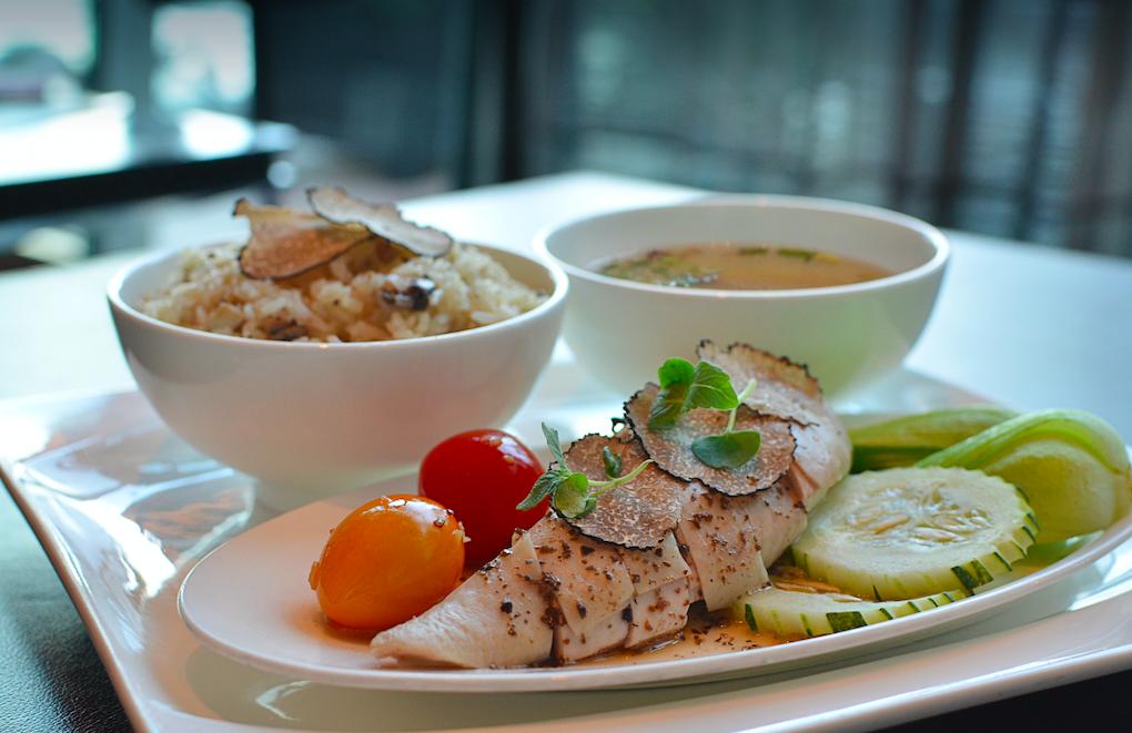 La Brasserie Presents Black Truffle Chicken Rice