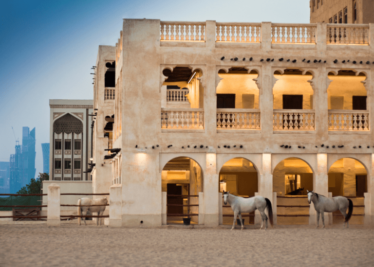 72 hours in Qatar? No biggie. Experience camel rides, breathtaking skylines, a burgeoning arts scene and more things to do in Qatar