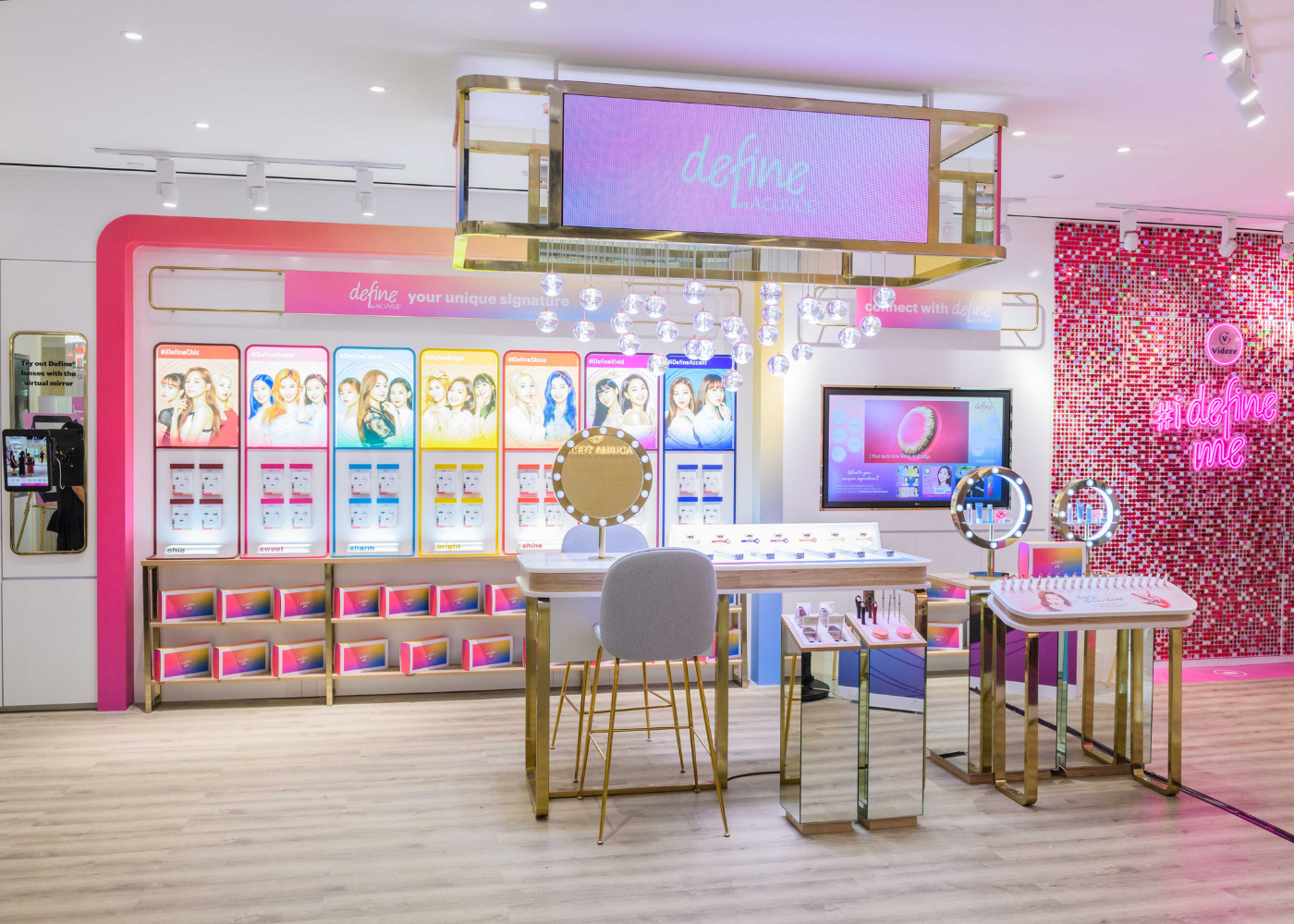 Eye know, it's cool: Videre's Centrepoint boutique is Singapore's first all-in-one eye health, beauty and cosmetic retail concept store
