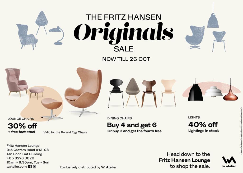 The Fritz Hansen Originals Sale
