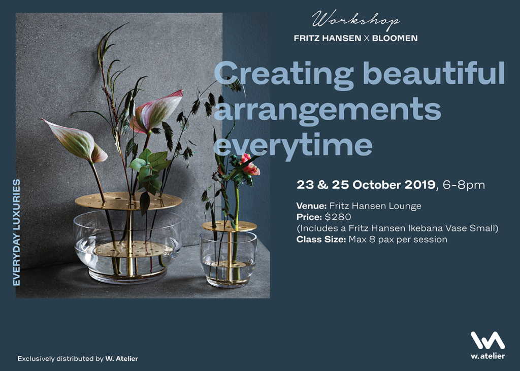 Fritz Hansen X Bloomen: Creating Beautiful Arrangements Everytime