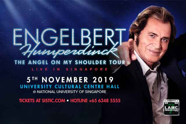 Engelbert Humperdinck: The Angel On My Shoulder Tour