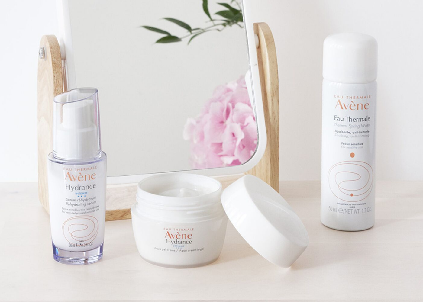 In need of hydration? The Avene Hydrance range plumps your skin from within. Photography: Avene