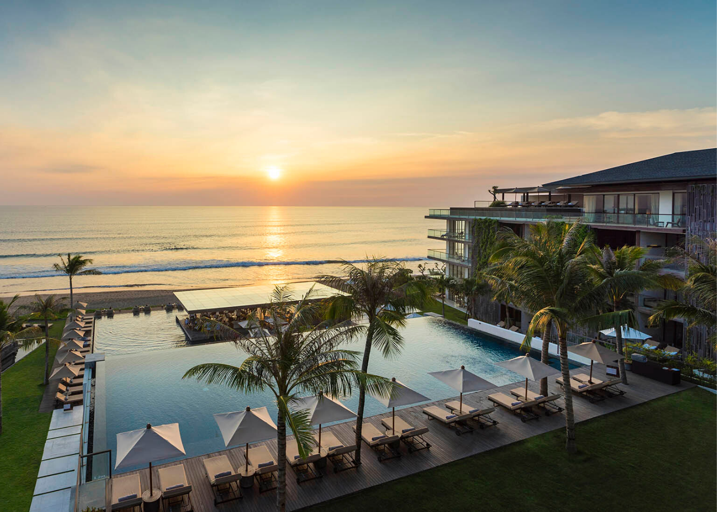 bali resort beachfront