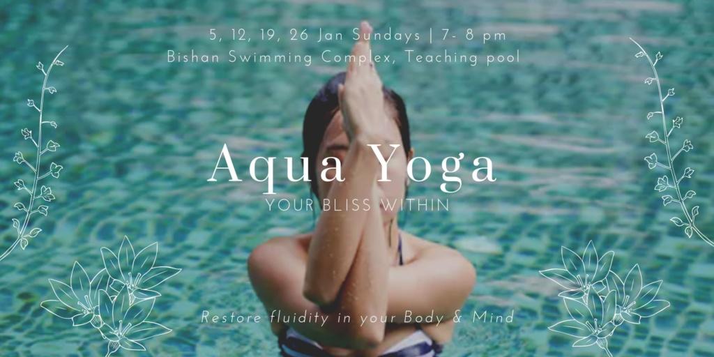 Aqua Yoga: Flow like Water