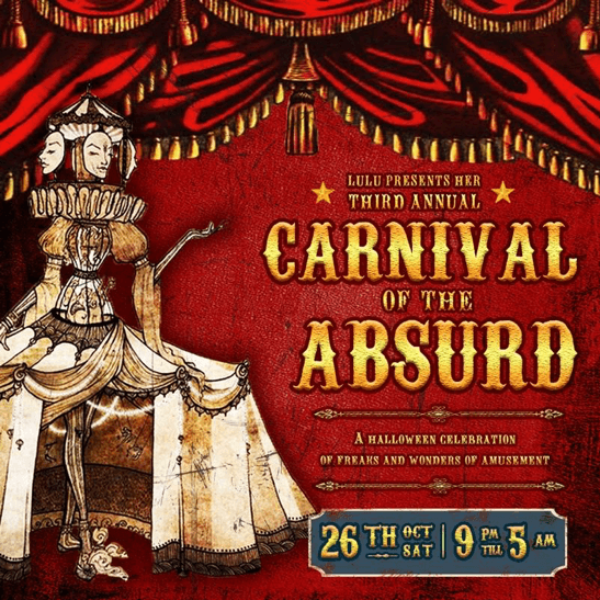 LuLu's Carnival of the Absurd