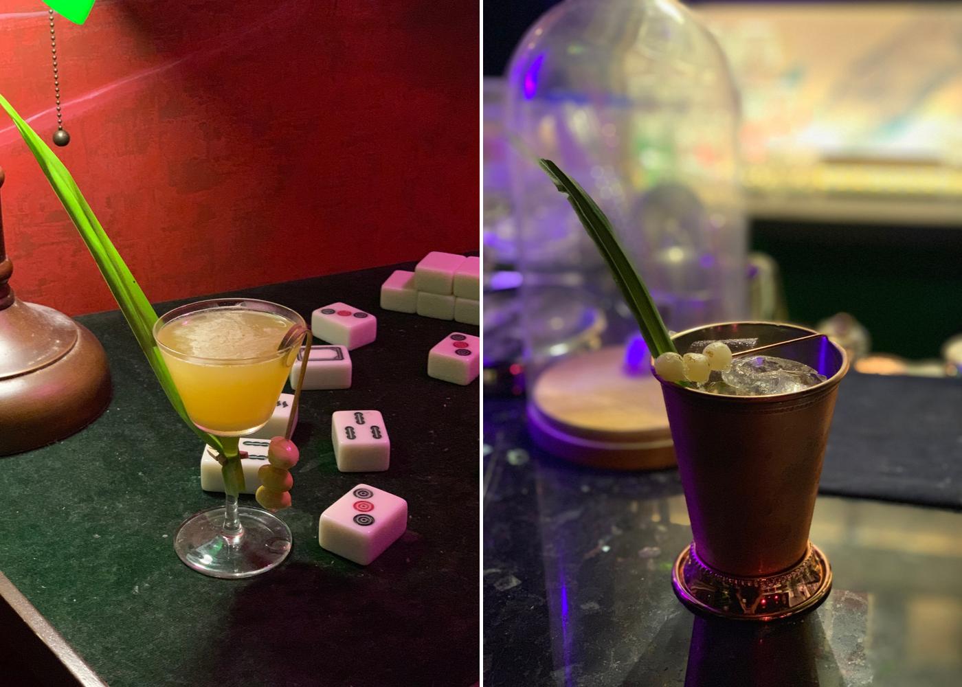 Mona Lounge's new cocktail menu