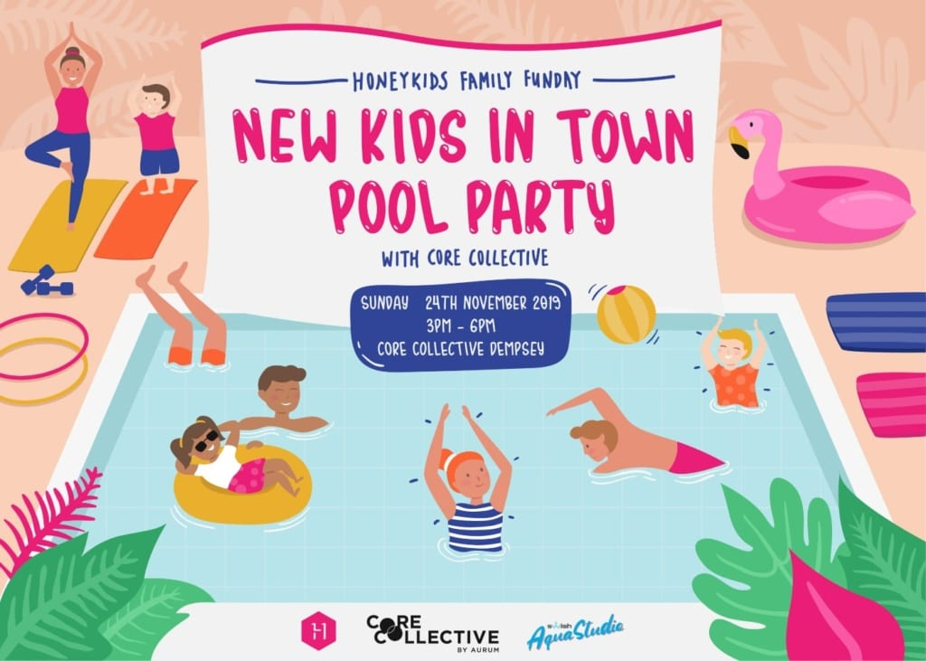 HoneyKids Family Funday: New Kids in Town Pool Party with Core Collective