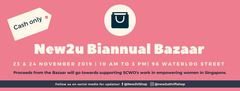New2U Biannual Bazaar 2019