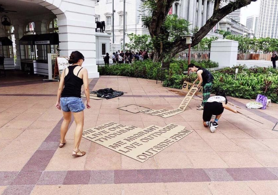 Singapore Poetry on the Sidewalks (S.P.O.T.S) by Arts in Your Neighbourhood