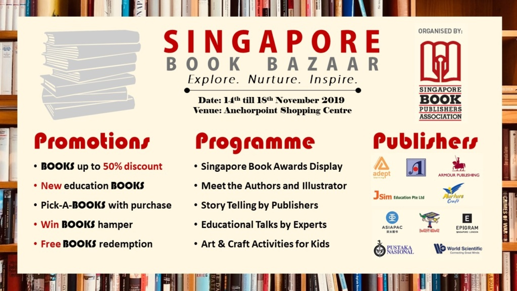 Singapore Book Bazaar 2019