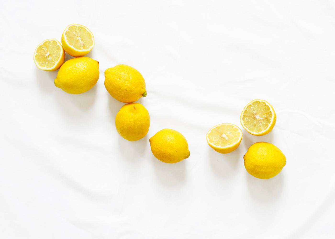 lemon skincare vitamin c
