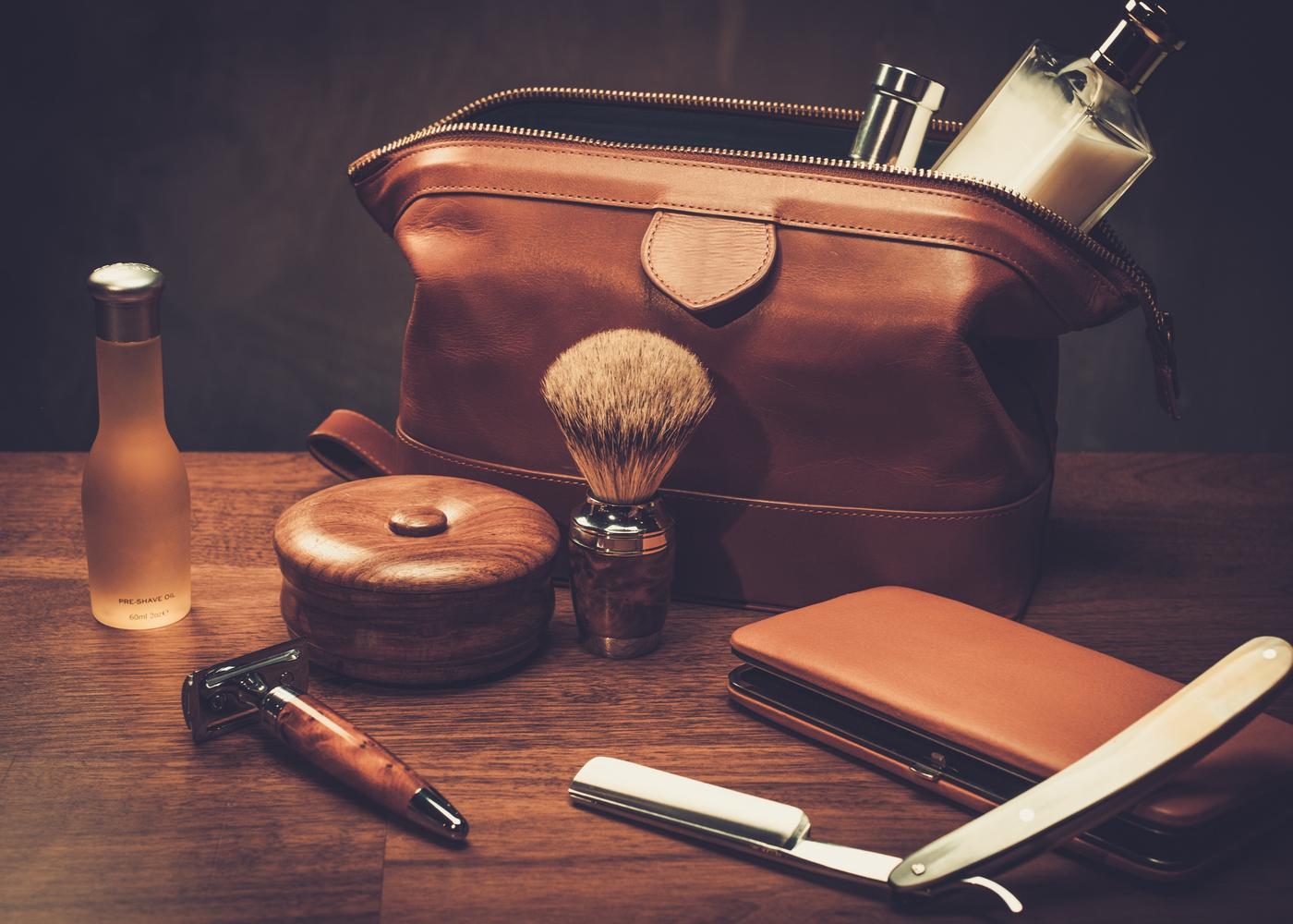 grooming kit hair and beard care men