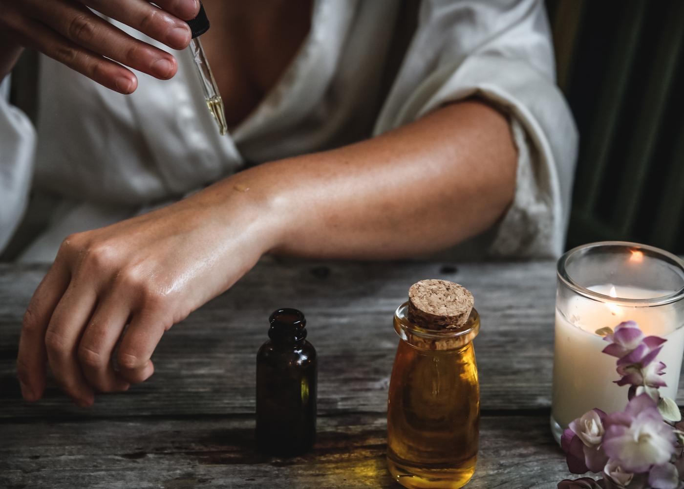 essential oils calm anxiety