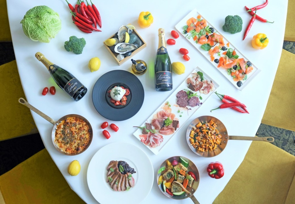 An Indulgent Champagne Brunch 'The Italian Table' at Zafferano