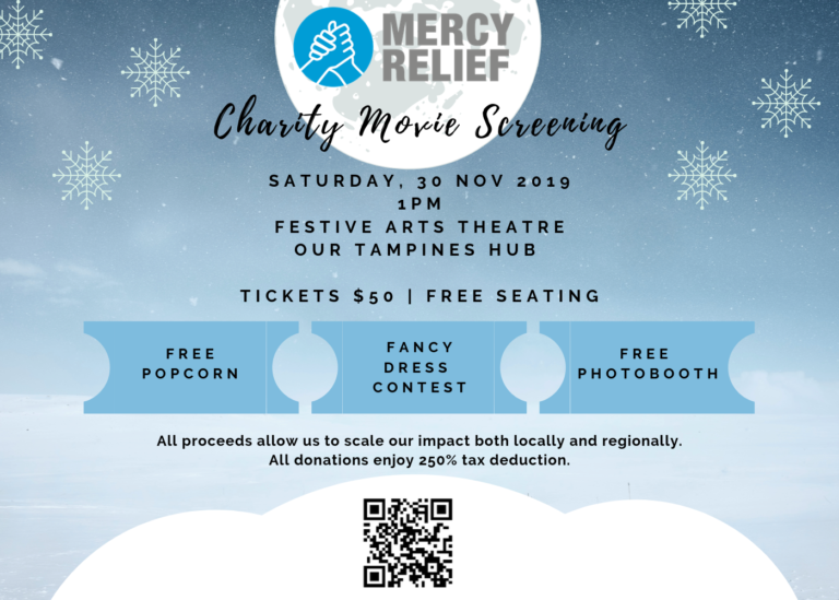 Mercy Relief's Charity Movie Screening Nov '19