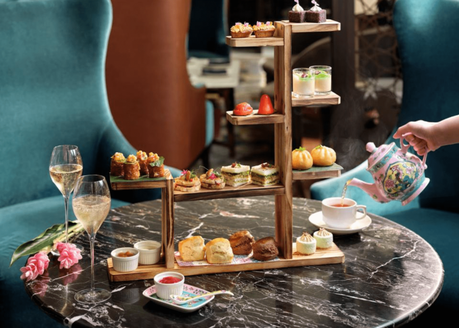 intercontinental | afternoon tea singapore