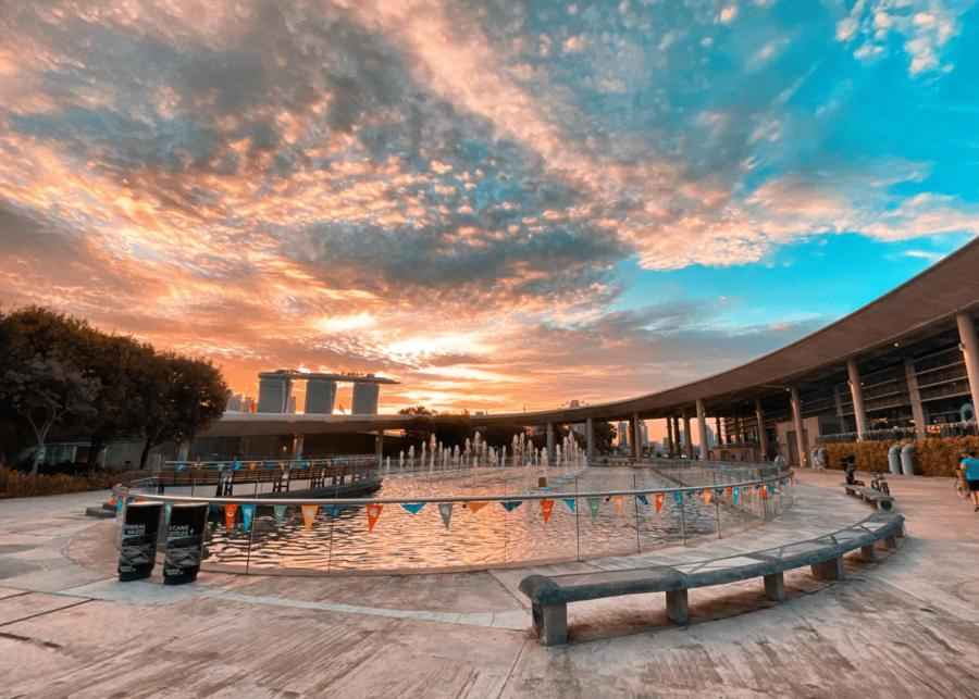 Picnic in Singapore: Marina Barrage