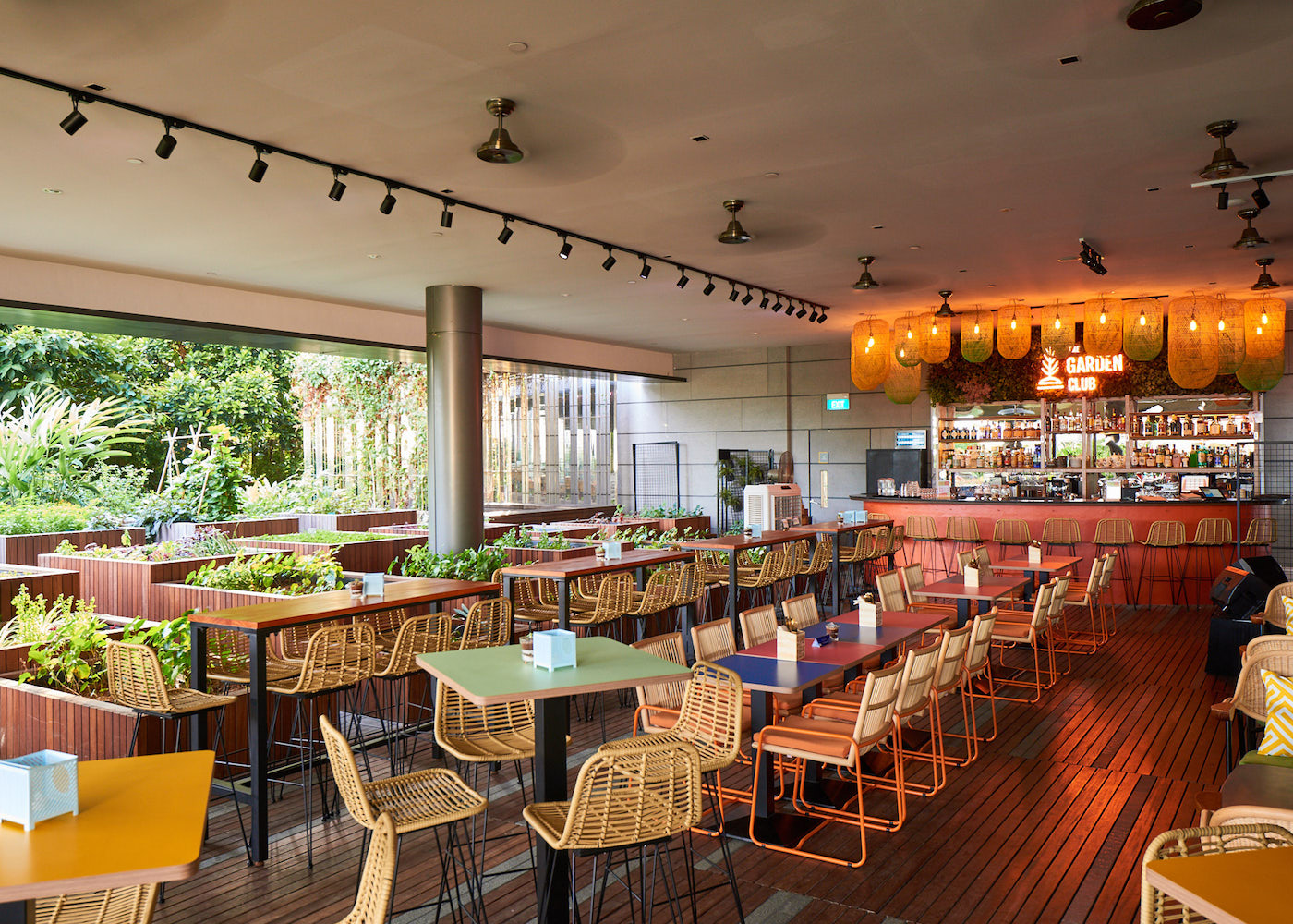 Chill in the CBD: The Garden Club is a hidden rooftop gem with live music and laidback vibes