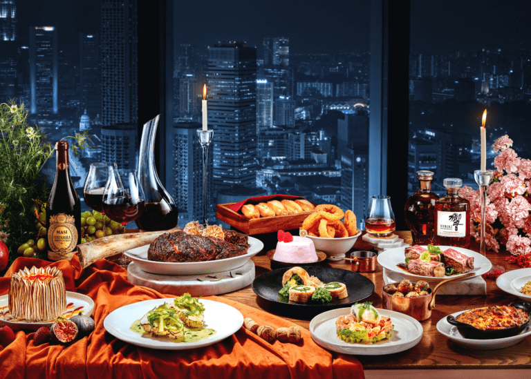 Festive bashes with fantastic views: Christmas and NYE 2020 celebrations at Andaz Singapore