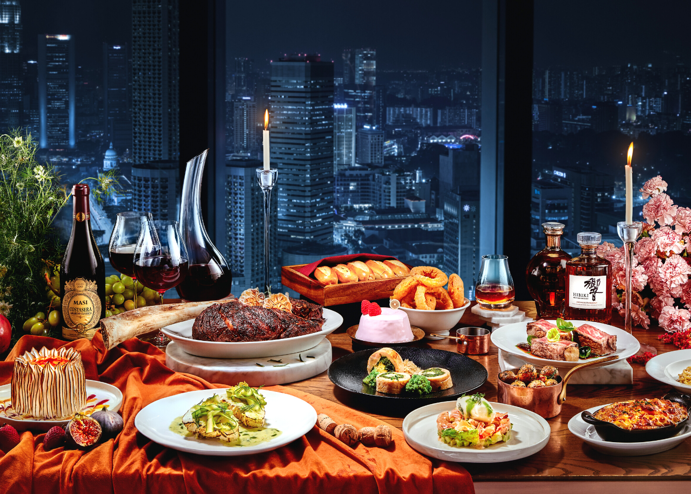 You'll be in a holidaze with these parties and feasts… Photography: Andaz Singapore