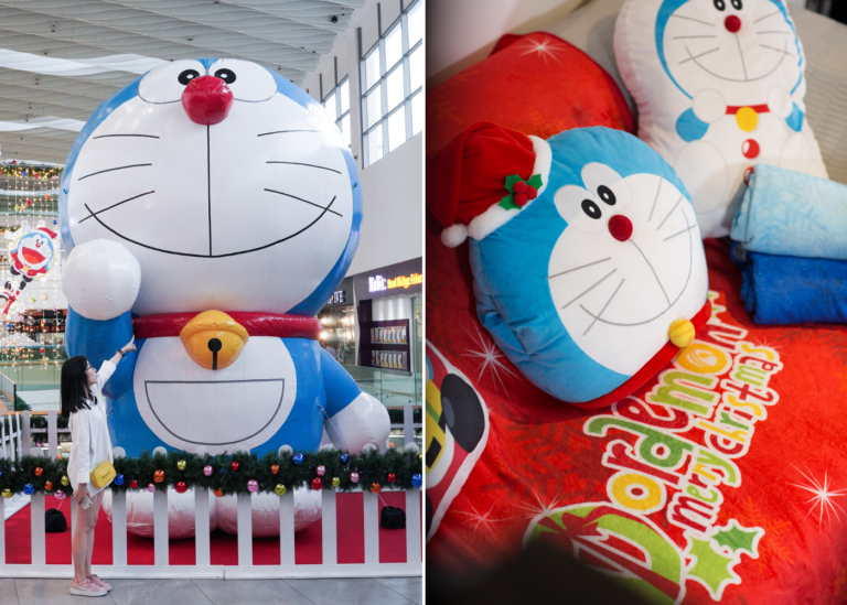 Wanna hang out with Doraemon and friends? Head this way to AMK Hub and Jurong Point
