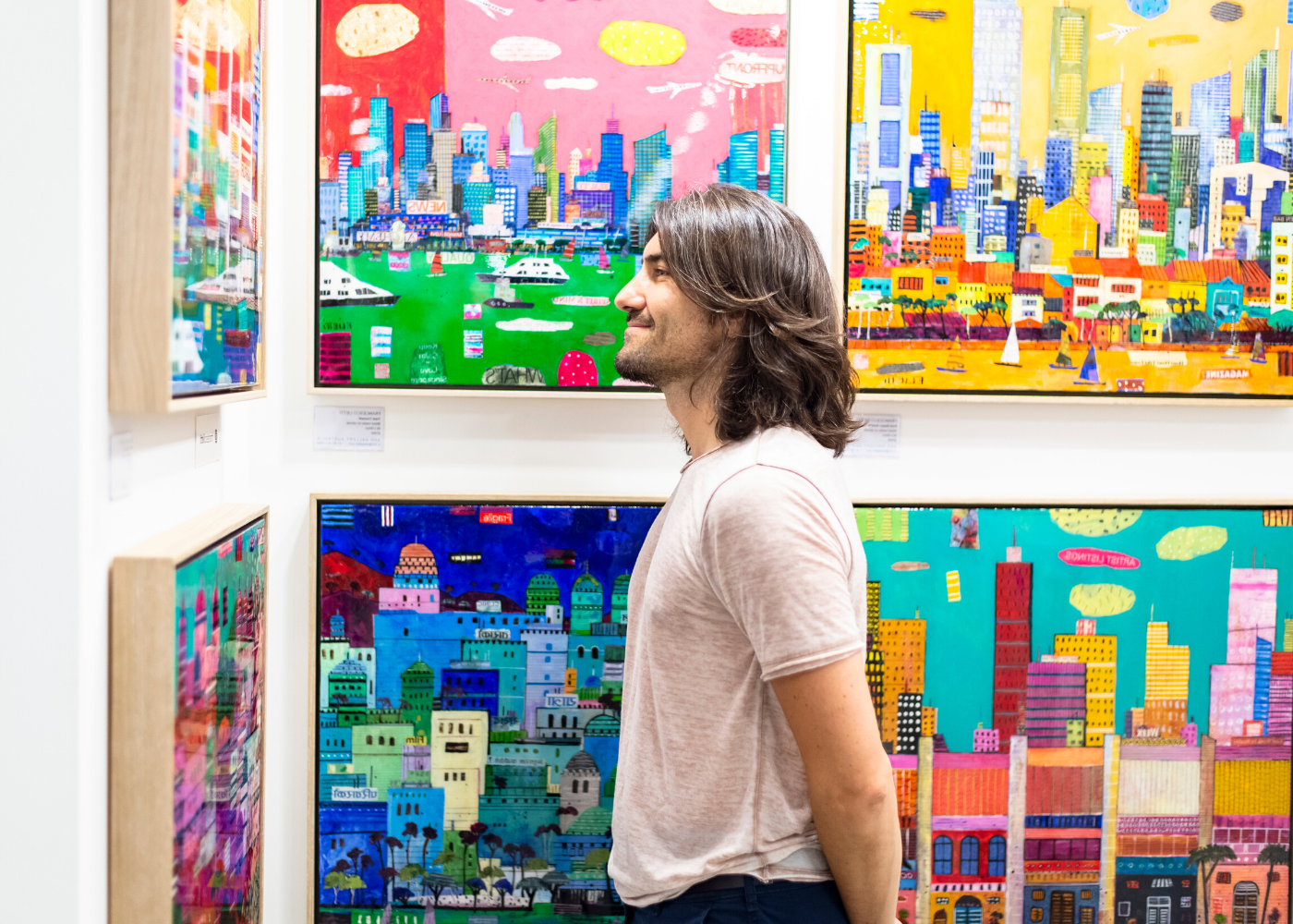 Gloriously vibrant highlights from the 2018 bash. Photography: Affordable Art Fair Singapore