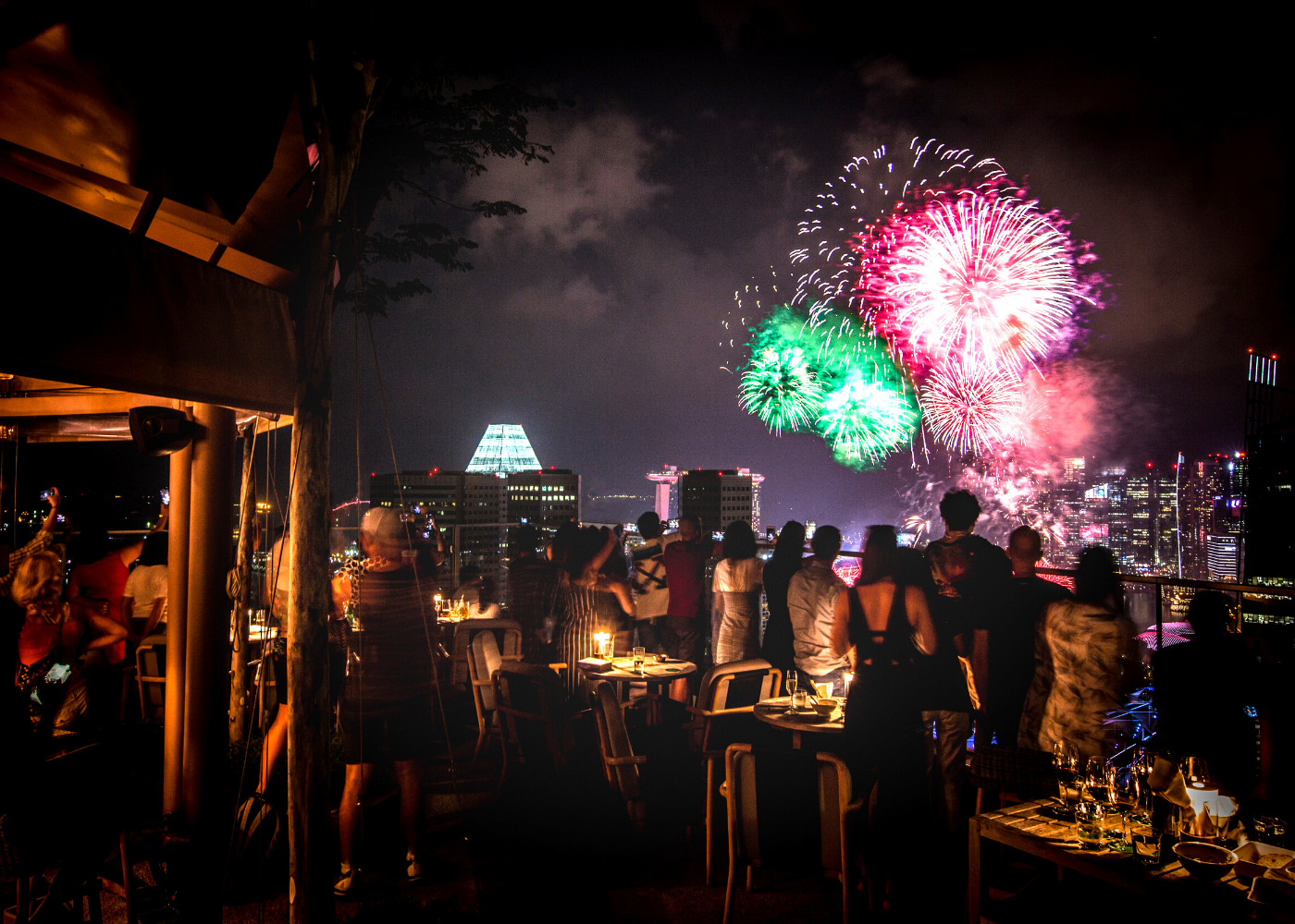 Join the NYE blowout at Mr Stork. Photography: Andaz Singapore