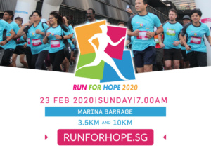Run for Hope 2020 By National Cancer Centre Singapore (NCCS) & Four Seasons Hotels Singapore