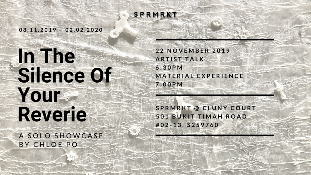 Artist Talk: In The Silence of Your Reverie