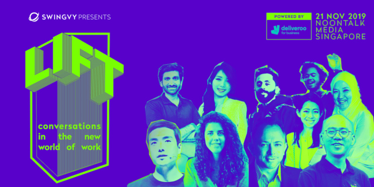Swingvy presents LIFT 2019, powered by Deliveroo for Business