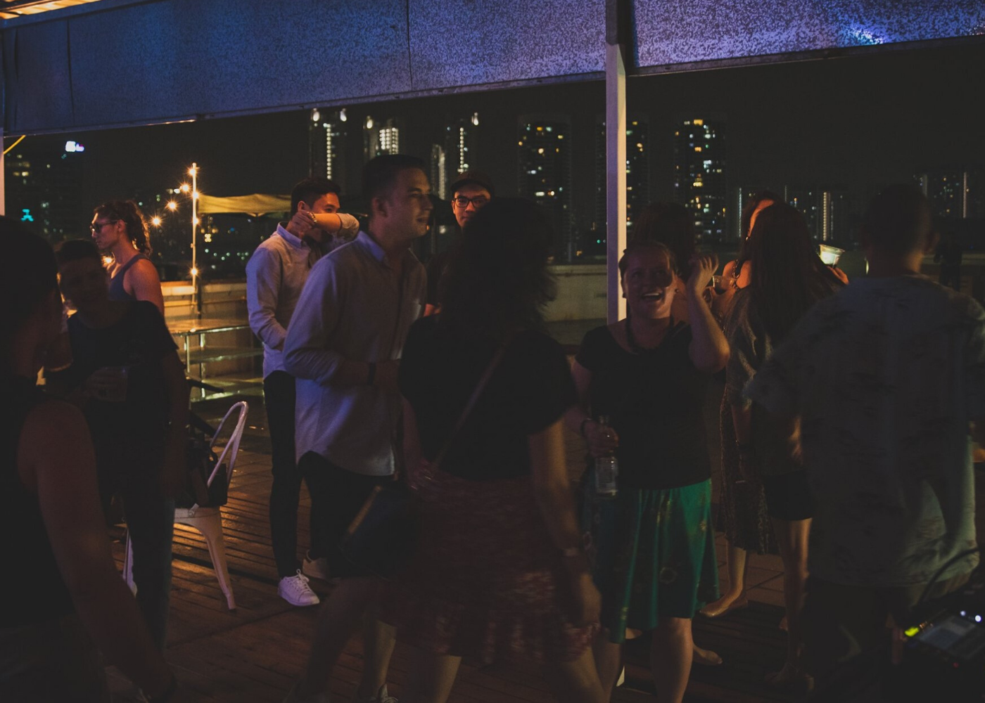 November party in Singapore: Kampong Boogie
