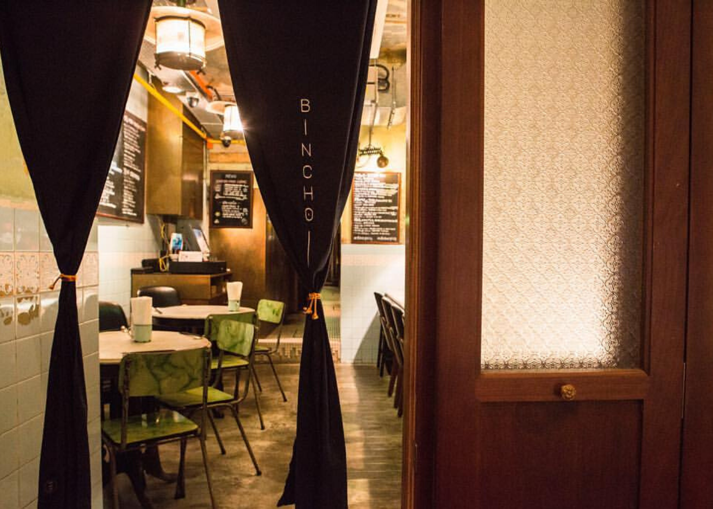 Hidden restaurants and cafes: Bincho