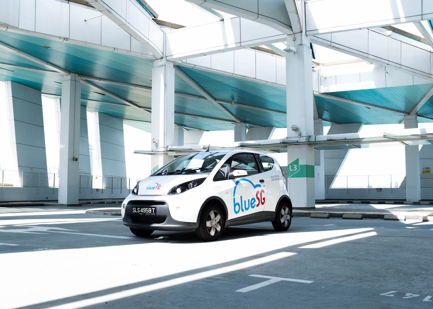 Here's the buzz: Singapore's first electric car race is zooming your way with BlueSG