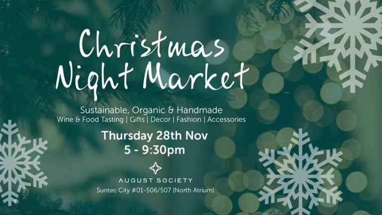 Christmas Night Market by August Society